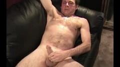 Frisky Mature Amateur Tom Beating Off Thumb