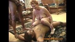 KInky Interracial Gangbang with a Horny Granny Part 2 Thumb