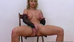 Mature Slut In Nylons Screwed Ass To Mouth And Swallows Thumb