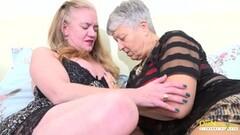 Horny Real Mature Babes Lesbian Licking Fun Thumb