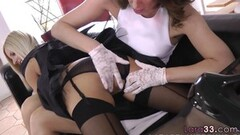 Hot Sexy Pussylicked UK mature spreads her legs Thumb