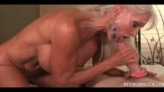 Ladyboy beauty pulling her hard cock solo Thumb