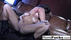 MILF Romi Rain hot lesbian sex Thumb