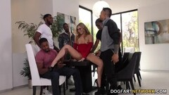 Moka Mora Mean Interracial Gangbang Thumb