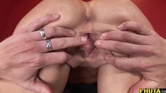 Cock shoots BIG cumshot 2 cam angles Thumb