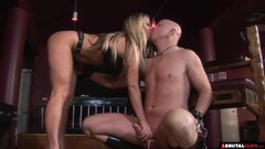 FemDom whips and controls until anal internal Thumb