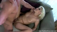 Blonde babe ass fucked Thumb
