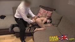 FakeAgentUK Cute Italian gets a fruity anal fucking Thumb