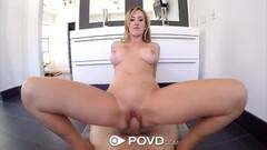 POV style pussy rammed Brett Rossi Thumb