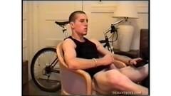 Sexy Adam beats his dick Thumb