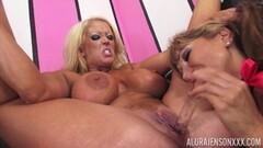 Naughty Lesbian Babes Enjoys Pussy Licking Thumb