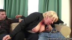 Busty French Girl Blows & Bangs Big American Cock For Cash Thumb