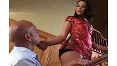 Cupid's sister takes big dildos from a mean skank. Thumb