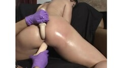 Teasing beauty sucking on cock after controlled tugjob Thumb