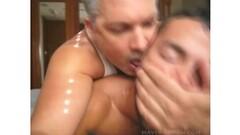 Beauty deep throats him while he eats away at her ass  pt 3/3 Thumb