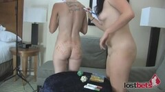 Sophie Moone 3 Pose Vegetable Insertion Pussy Thumb