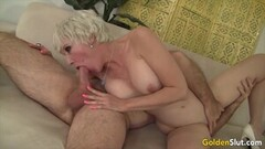 Naughty Busty Auntie Sucking Comp Thumb