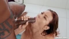 Alexis Fawx feasting on a black boner Thumb