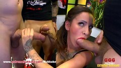 Hot Natasha Ink Tattooed Big Ass Gangbang Thumb
