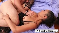 Hardcore Priya Fucks Her Friend until He Cums! Thumb
