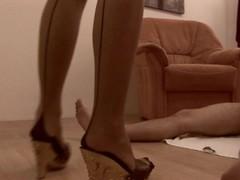 Female Dominates w/ Her Feet Thumb