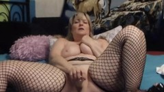 Blond Canadian honey housewife with plump body squirting Thumb