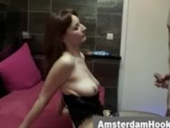 Amsterdam hooker in fishnets fucked Thumb