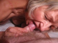 Amateur hottie earns facial Thumb