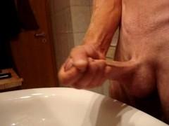 wichsen abspritzen Sperma cum Thumb