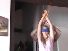 Hanka is hanged spanked and teased Thumb