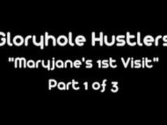Gloryhole Hustlers Maryjane Johnson Swallows Thumb