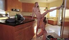 Petite teen college lesbos eating pussy in erotic girl on gir Thumb