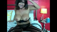 Gorgeuos Smoking Milf is doing Nasty things with her Toys Thumb
