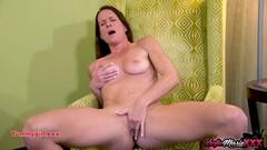 SofieMarieXXX - Mature Babe Sofie Marie Wanking In Panties Thumb