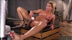 helene henriks playing with her fucking machine Thumb